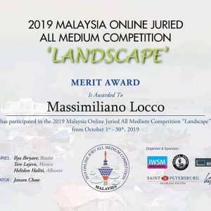 2019 MALAYSIA ONLINE JURIED ALL MEDIUM COMPETITION - LANDSCAPE